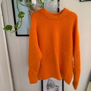 🍊🍊🍊Vibrant Orange Knit Jumper 🍊🍊🍊